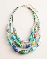 Chico's Chicos Vibrant Multi-Strand Necklace