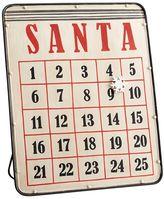 Pottery Barn Santa Magnetic Advent Calendar