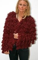 JMM Wool Shag Knit Jacket