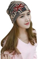 West Bank Westbank Outdoor Paid Acryic Knit Cap Korean Fashion Beanies for Winter Warm Hat