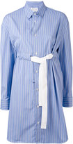 Maison Margiela striped shirt dress