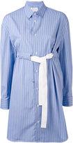 Maison Margiela stripped shirt dress - women - Cotton - 38
