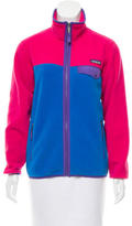 Patagonia Colorblock Fleece Jacket