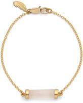 Harry Rocks Bar Of Love Bracelet Rose Quartz