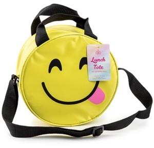 Samba Insulated Lunch Bag, Figural Smiley