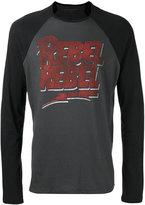 John Varvatos 'Rebel Rebel' long sleeve T-shirt - men - Cotton/Modal - S