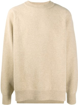 Jil Sander Slouchy Virgin Wool Jumper