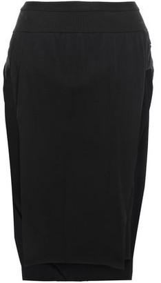 Rick Owens Skirt-effect Cotton-jersey Shorts