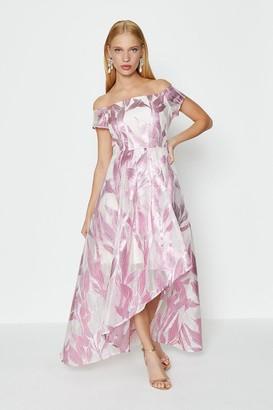 Coast Leaf Jacquard Maxi Dress