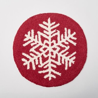 Amity Home Snowflake Indoor/Outdoor Dining Chair Cushion
