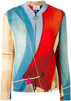 Akris Punto fitted bomber jacket - women - Viscose/Spandex/Elastane - 34