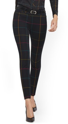 New York & Co. Petite Audrey High-Waisted Ankle Pant - Rainbow