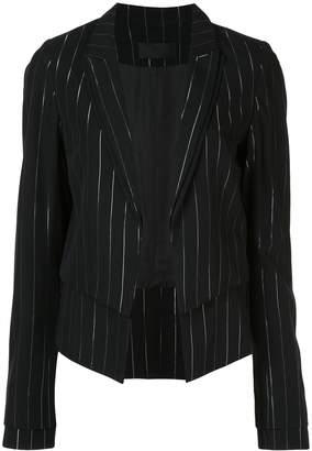 RtA Stella striped double-layer blazer