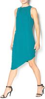 Greylin Emerald Asymmetrical Dress