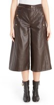 Chloé Women's Seam Detail Leather Culottes