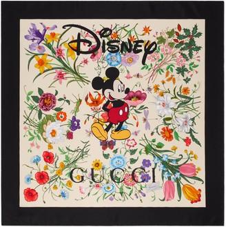 Gucci Disney x silk scarf