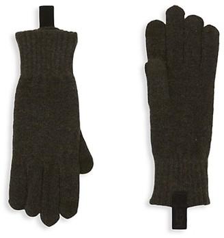 UGG Wool-Blend Touchscreen Gloves