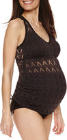 A.N.A a.n.a High Waist Swimsuit Bottom-Maternity