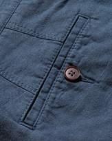 Charles Tyrwhitt Airforce Blue Cotton Linen Shorts Size 30