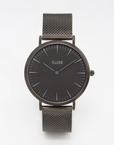Cluse La Boheme Black Mesh Watch CL18111