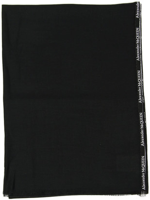 Alexander McQueen Silk And Cashmere Scarf