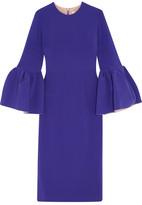 Roksanda Margot Crepe Dress - Purple