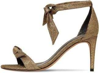 Alexandre Birman 75mm Clarita Cotton Blend Lurex Sandals