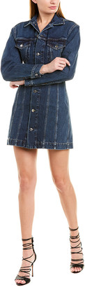 Helmut Lang Trucker Mini Dress