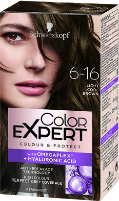 Schwarzkopf Colour Expert Permanent Hair Colour 6.16 Light Cool Brown