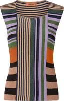 Missoni Multicolor Striped Lurex Top