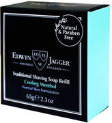 Jagger Cooling Menthol Shaving Soap Refill by Edwin 2.3oz Shave Soap)