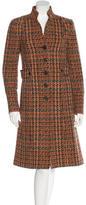 Etro Tweed Wool Coat