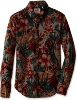 Naked & Famous Denim Men's Regular Shirt in Big Tropical