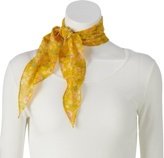 Sonoma Goods For Life Women's Recycled Ditzy Floral Scarf