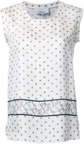 3.1 Phillip Lim printed satin tank top - women - Silk - 2
