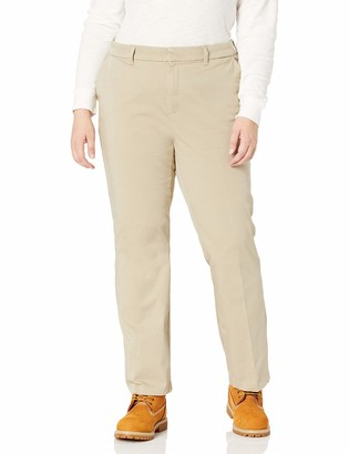 Dickies Women's Size Perfect Shape Bootcut Twill Pant - Plus