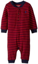 Ralph Lauren Striped Cotton Jersey Coverall Boy's Jumpsuit & Rompers One Piece