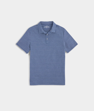 Vineyard Vines Mens Color To Color Striped Edgartown Polo