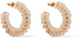 Thumbnail for your product : Simone Rocha Gold-tone Crystal Earrings