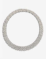 Swarovski Diamanta Crystal Pavé Collar Necklace