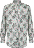 Comme des Garcons doodle print shirt - men - Cotton - S