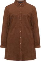 Jette Joop Plus Size Suede-look blouse