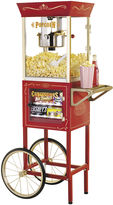 Nostalgia Electrics Nostalgia CCP610 59-Inch Commercial 8-Ounce KettlePopcorn & Concession Cart