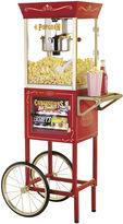 Nostalgia Electrics Nostalgia ElectricsTM Vintage CollectionTM Old-Fashioned Movie Time Popcorn Cart