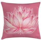 "Chakra Lotus Meditation Yoga Pillow Cover Ambesonne Size: 16"" x 16"""