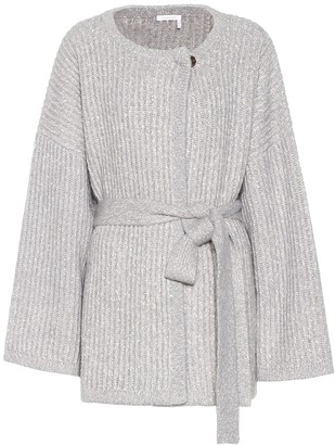 See by Chloe Cotton and wool-blend cardigan