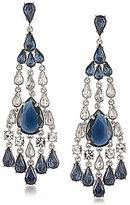Carolee New York Star Statement Chandelier Earrings