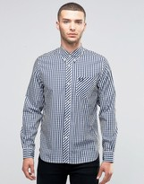 Fred Perry Shirt Gingham Check Buttondown In Slim Fit