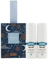 REN Clean Skincare & Now To Sleep Mini Pillow Sprays Stocking Filler