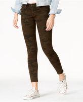 Hudson Camo Print Super-Skinny Ankle Jeans